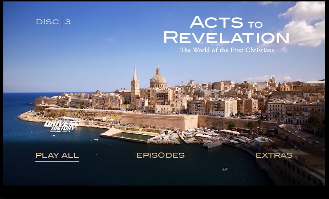 Drive Thru History® Acts to Revelation DVD Screen