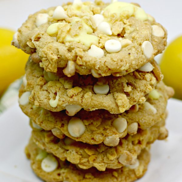 Lemon Stuffed Cookies