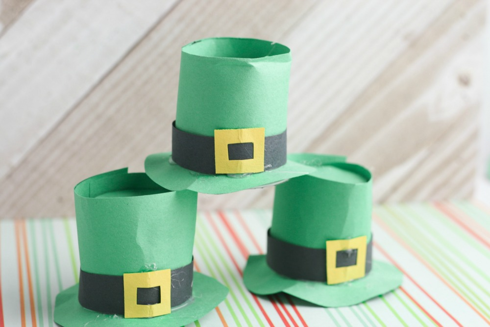 Leprechaun Hat DIY Craft using K-Cups Craft