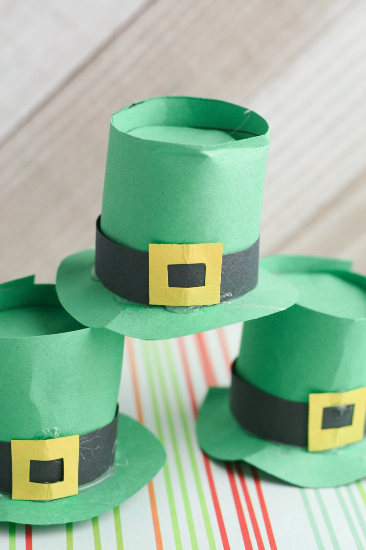 Leprechaun Hat DIY Craft using K-Cups