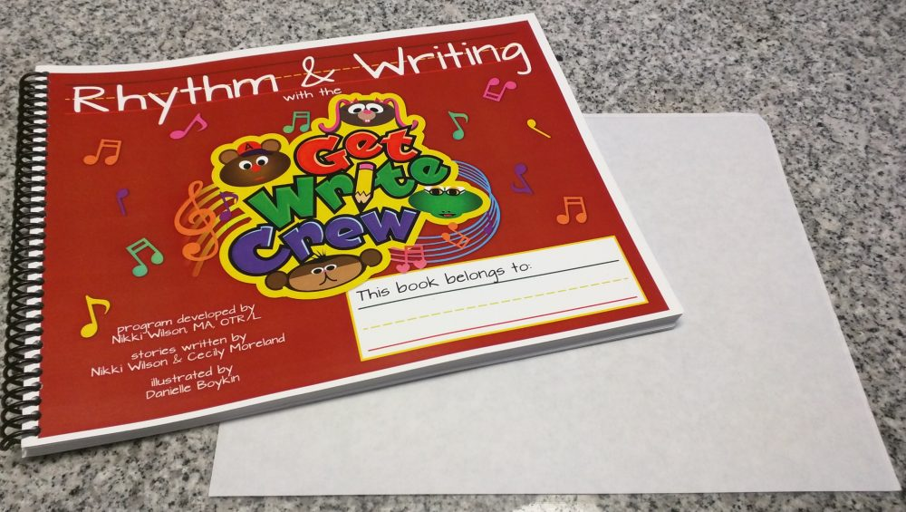 Rhythm & Writing with the Get Write Crew Workbook