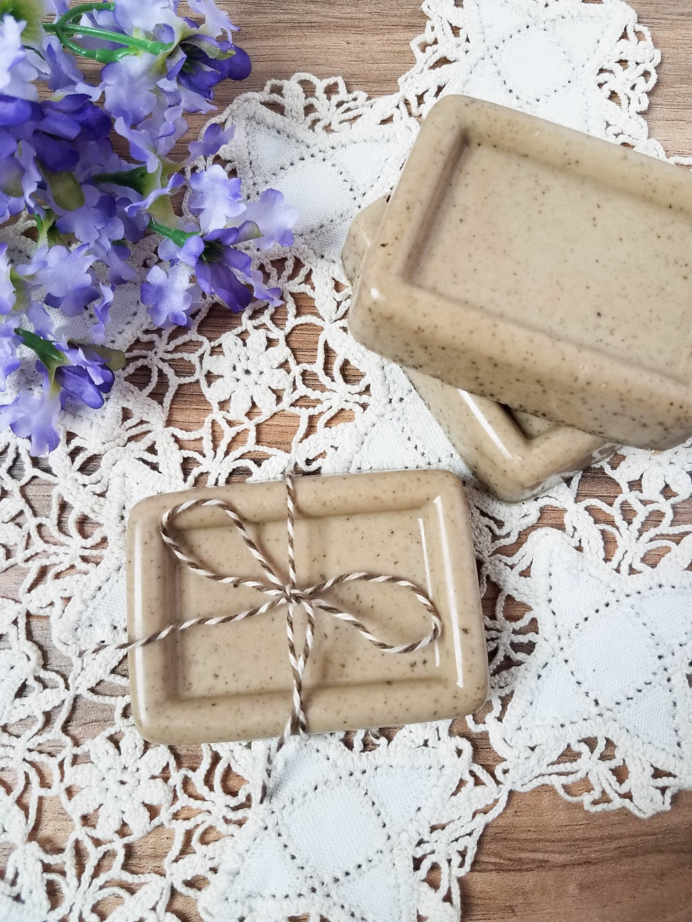 Vanilla Coffee Soap is Easy to Make