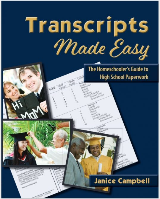 Transcripts Made Easy by Janice Campbell
