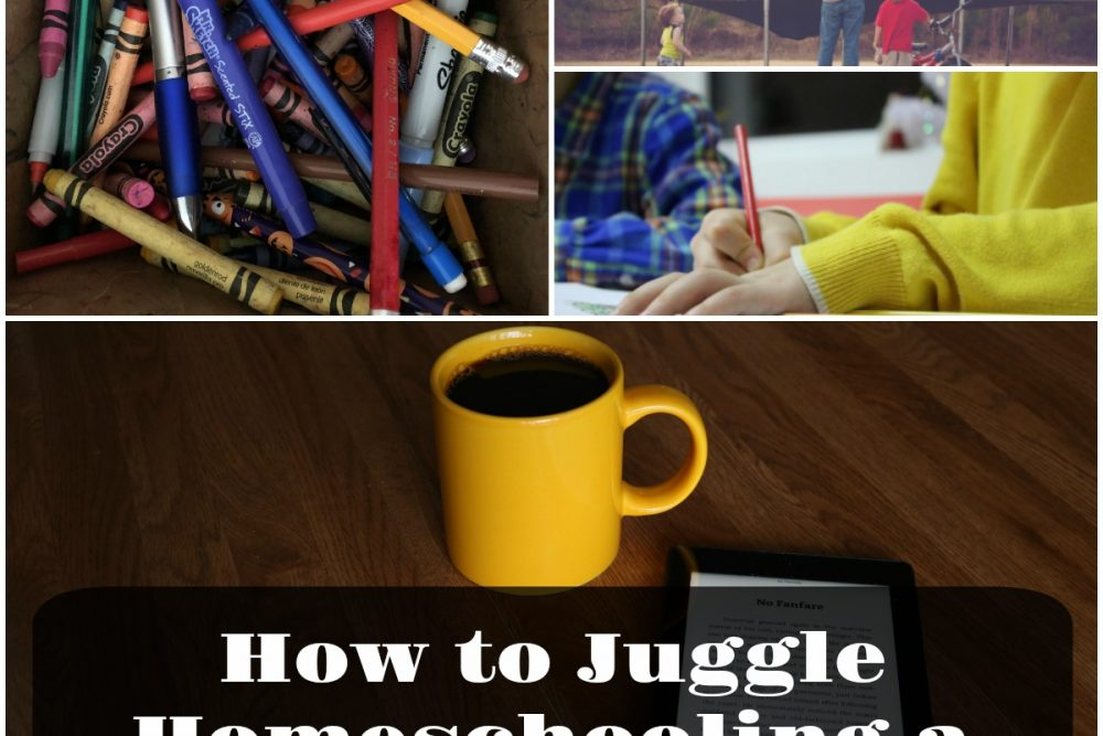 How to Juggle Homeschooling a Large Family