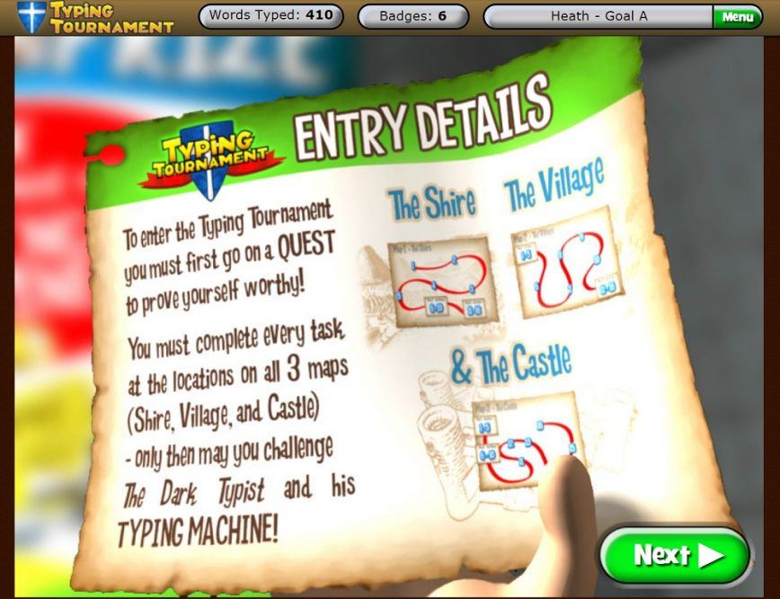 Typing Tournament Online by EdAlive Quest Map