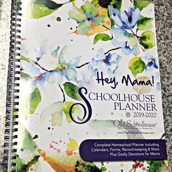 Hey, Mama! Homeschool Planner for 2019/20 Year Review