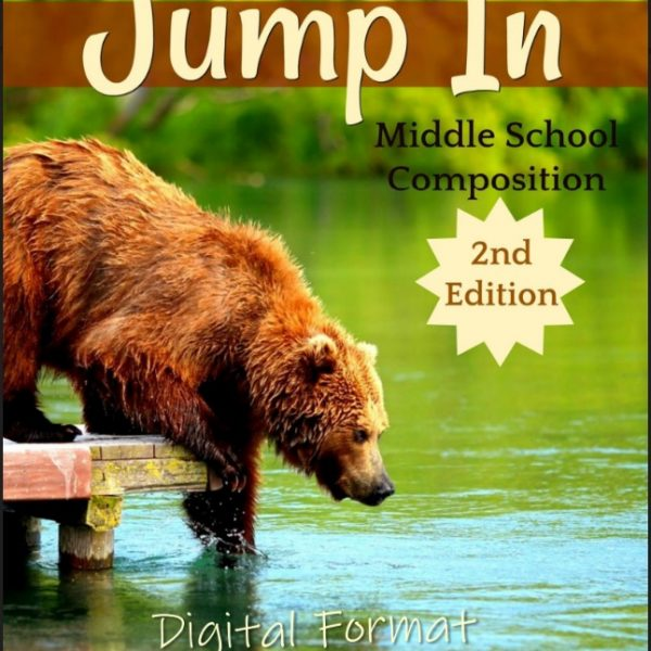 Jump In, 2nd Edition Homeschool Composition Course for Middle School REVIEW