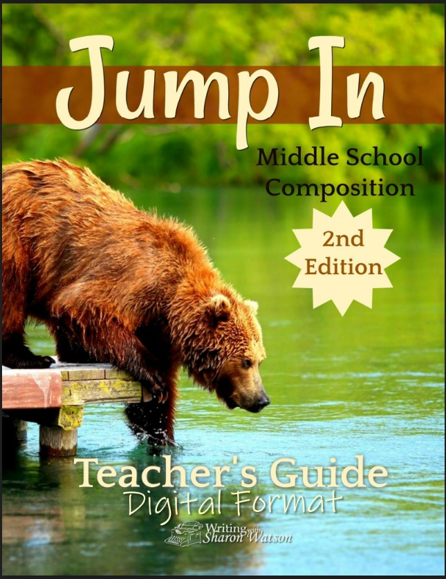 Jump In Middle School Composition Teachers Guide