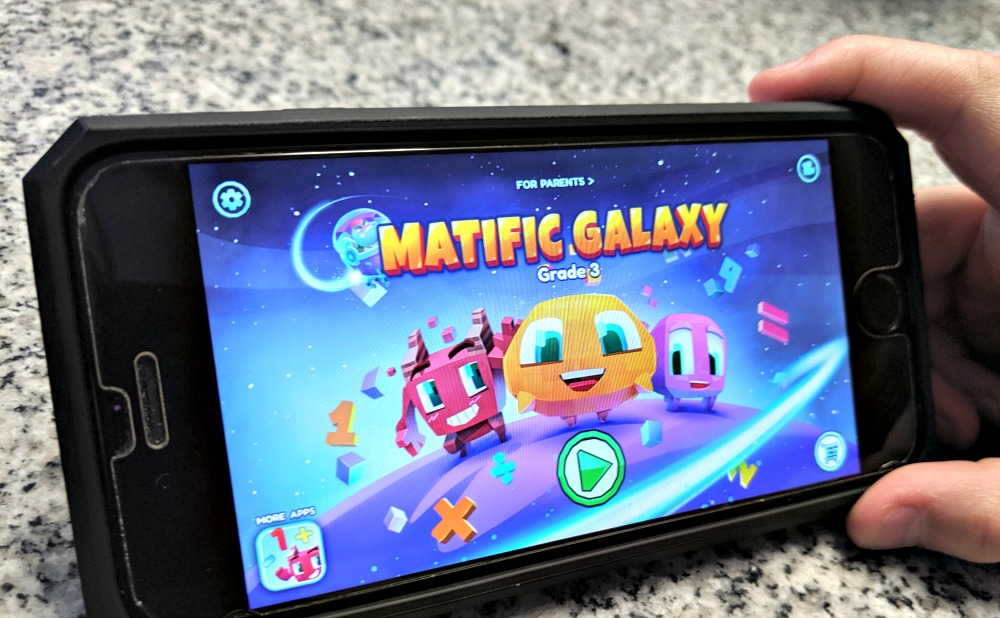 Matific Galaxy Grade 3 learning app for math practice