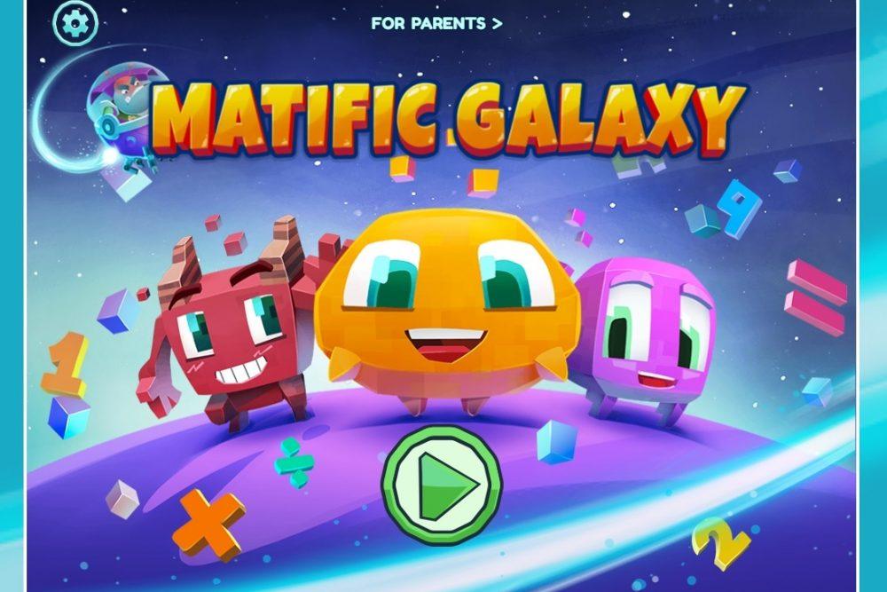 Matific Galaxy online K-6 math games