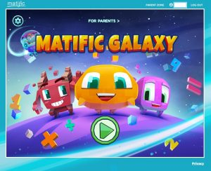 Matific Galaxy online K-6 math games