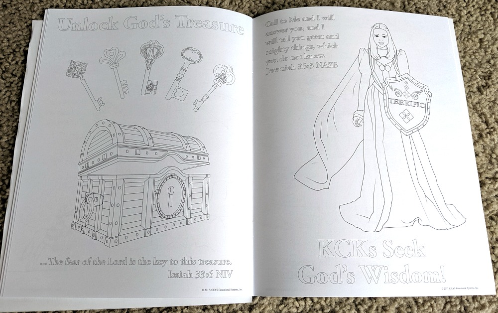 The Kingdom Code Coloring Book Preview