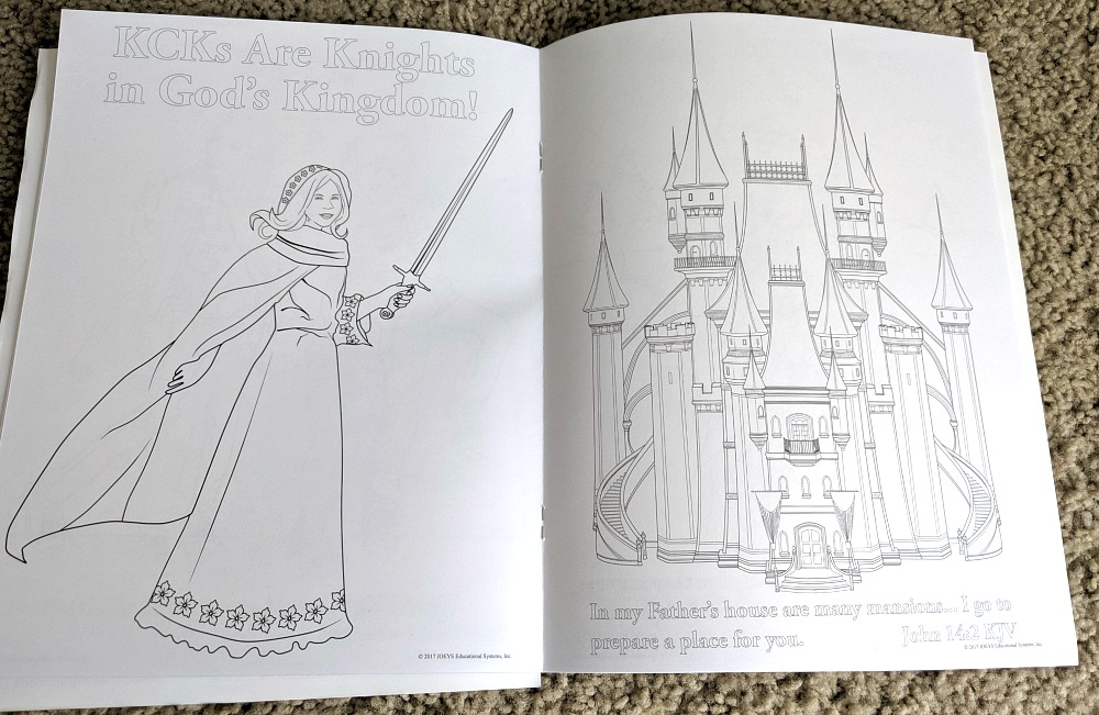 The Kingdom Code Coloring Book