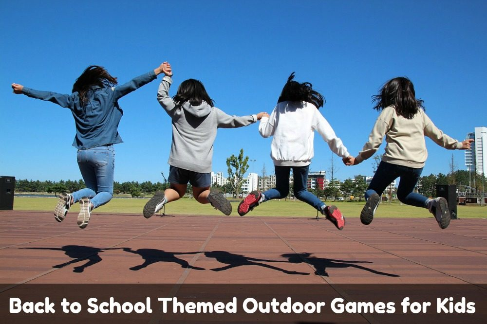 Back to School Themed Outdoor Games for Kids