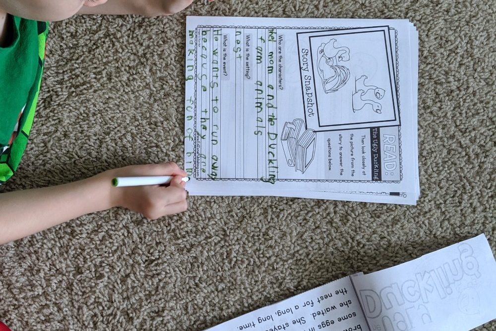 Crafty Classroom Fables & Tales Reading Comprehension