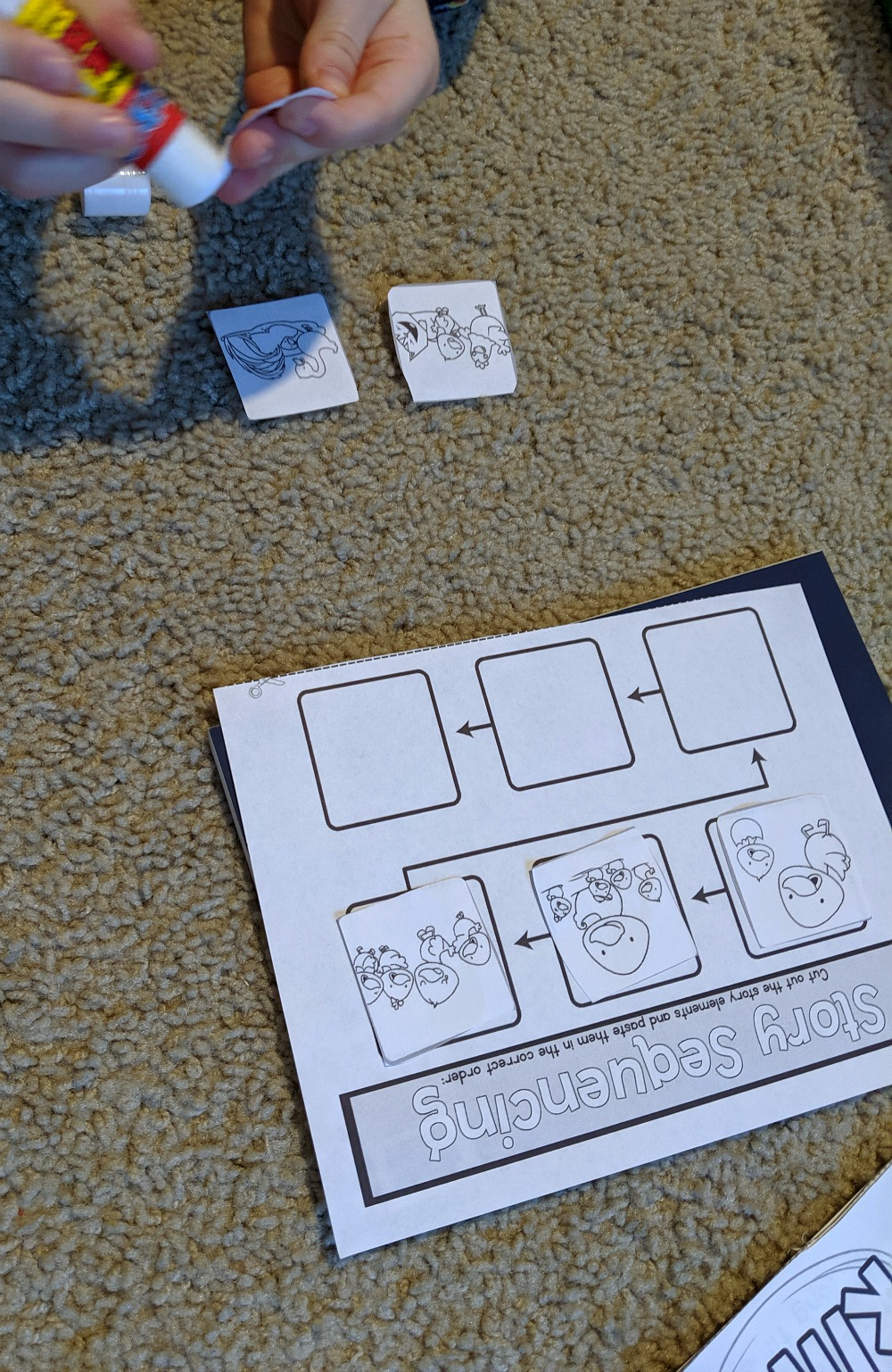 Crafty Classroom Fables & Tales Story Sequencing