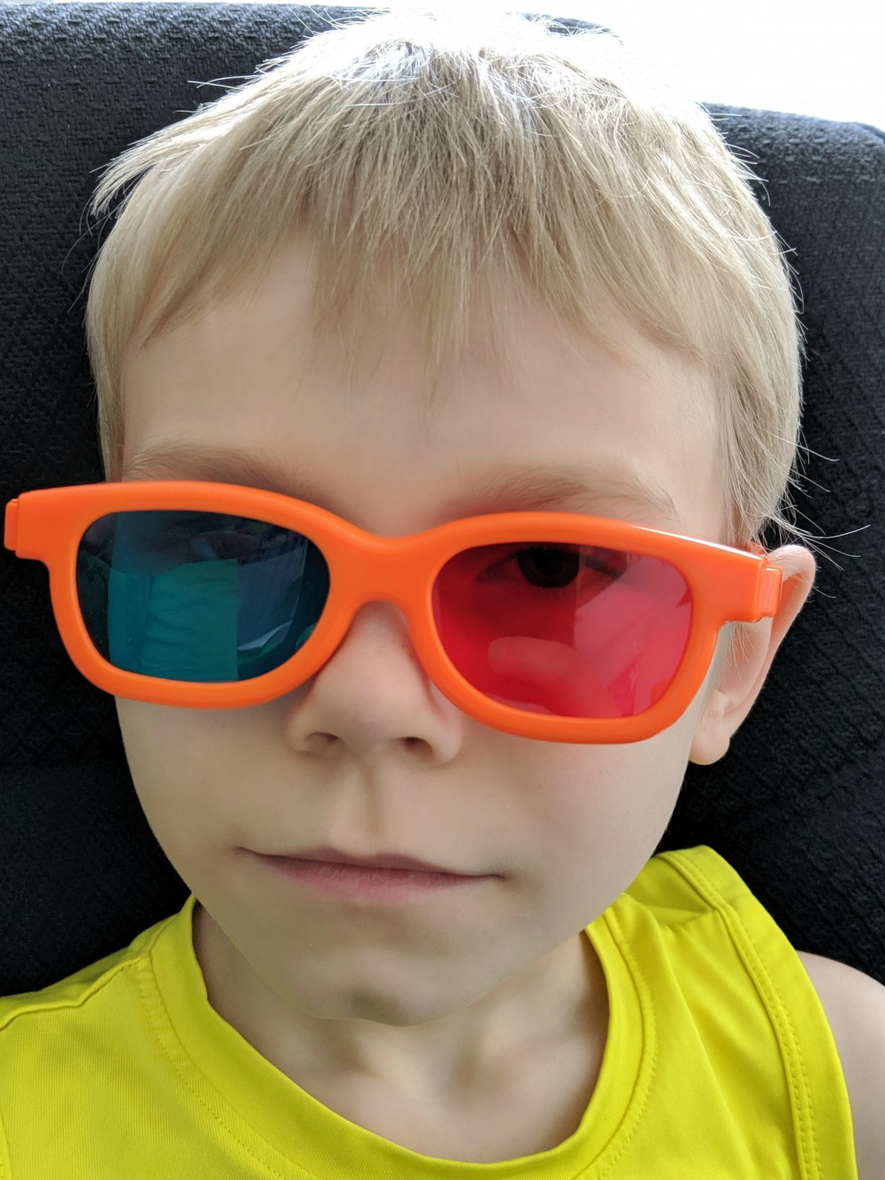 Dyslexia Gold Engaging Eyes 3D Glasses