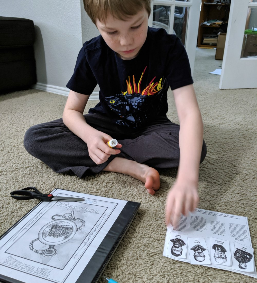 Home School in the Woods Time Travelers World War II Hands-On Project