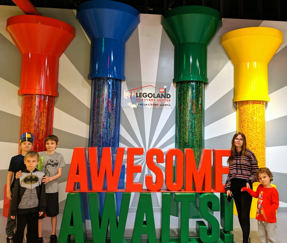 LEGOLAND Discovery Center Grapevine Texas - Awesome Awaits
