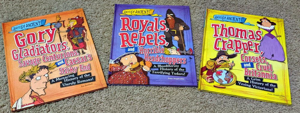 Library and Educational Services LLC - Awfully Ancient Set of 3 Books