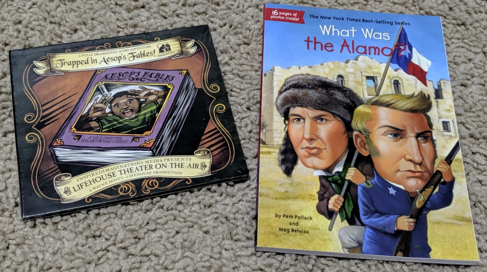 Library and Educational Services - Trapped in Aesop's Fables and What Was the Alamo