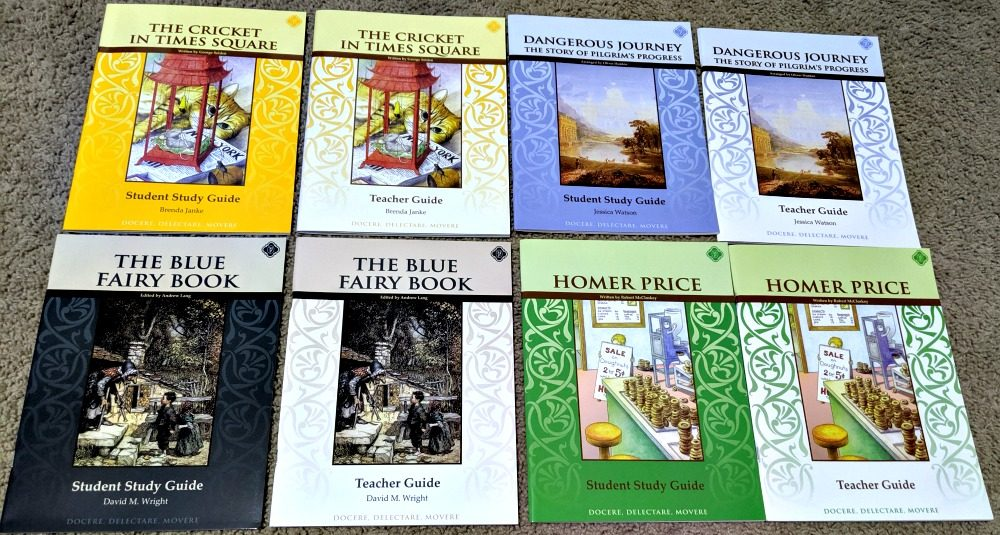 Memoria Press Fourth Grade Literature Guide Set