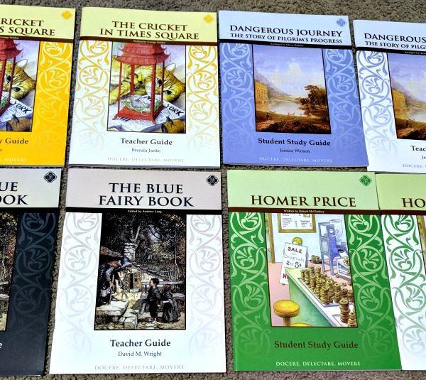 Memoria Press Fourth Grade Literature Guide Set Review