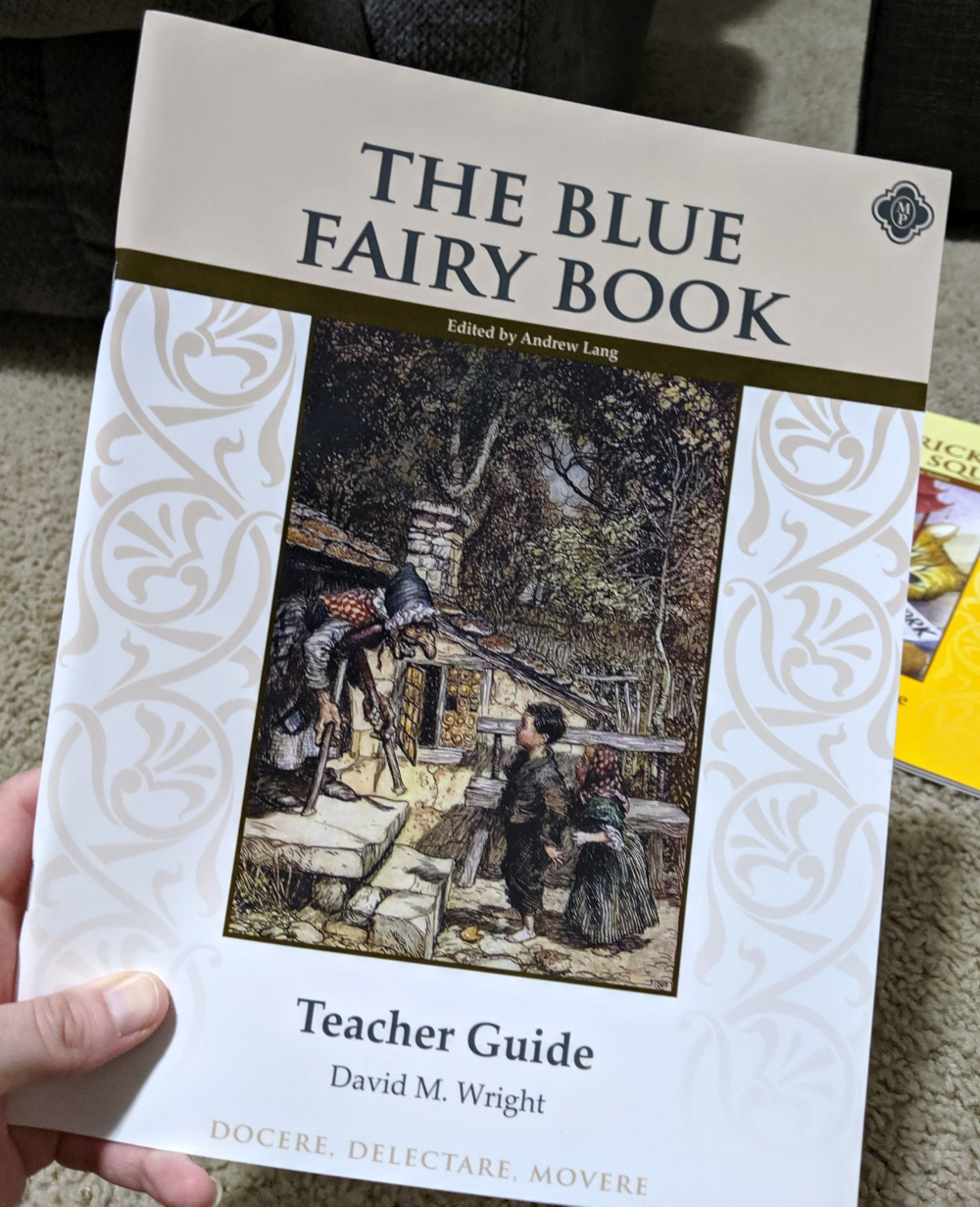 Memoria Press The Blue Fairy Book Teacher Guide