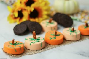 ADORABLE Edible Pumpkin Patch with OREO Cookies Recipe - Great for parties