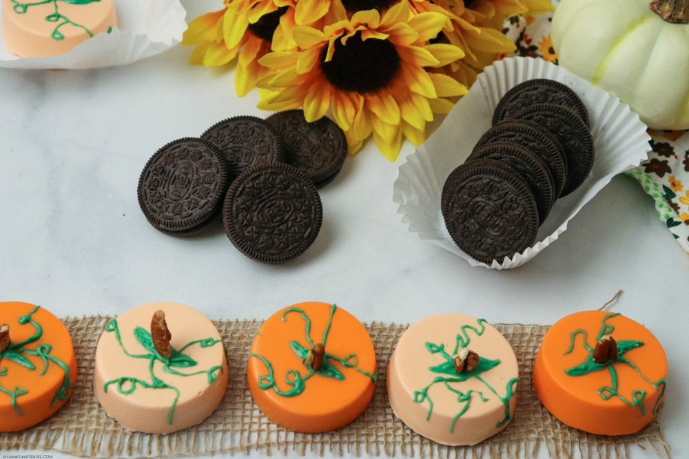 ADORABLE Edible Pumpkin Patch with OREO Cookies Recipe