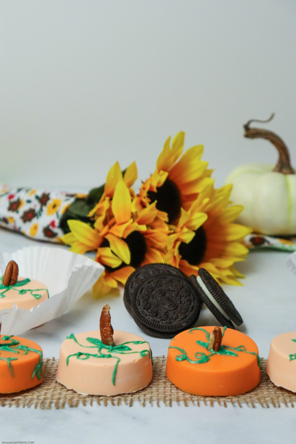 ADORABLE Edible Pumpkin Patch with OREO Cookies