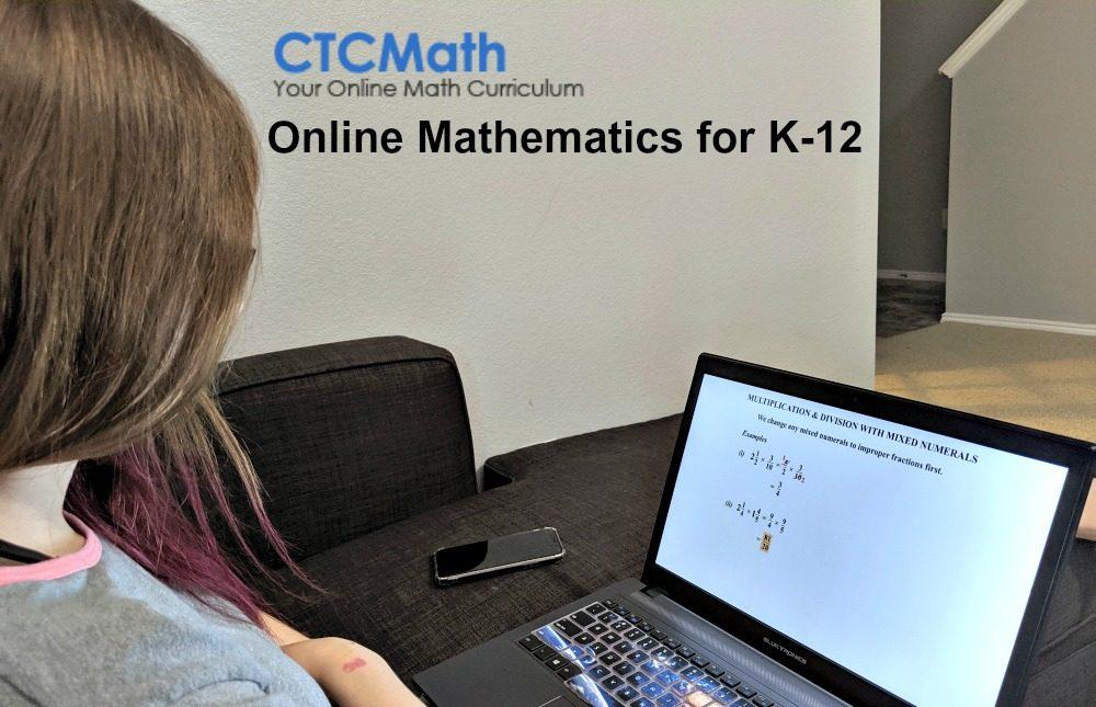 CTCMath Online Mathematics for K-12