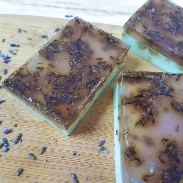 Lavender Eucalyptus Soap DIY Recipe