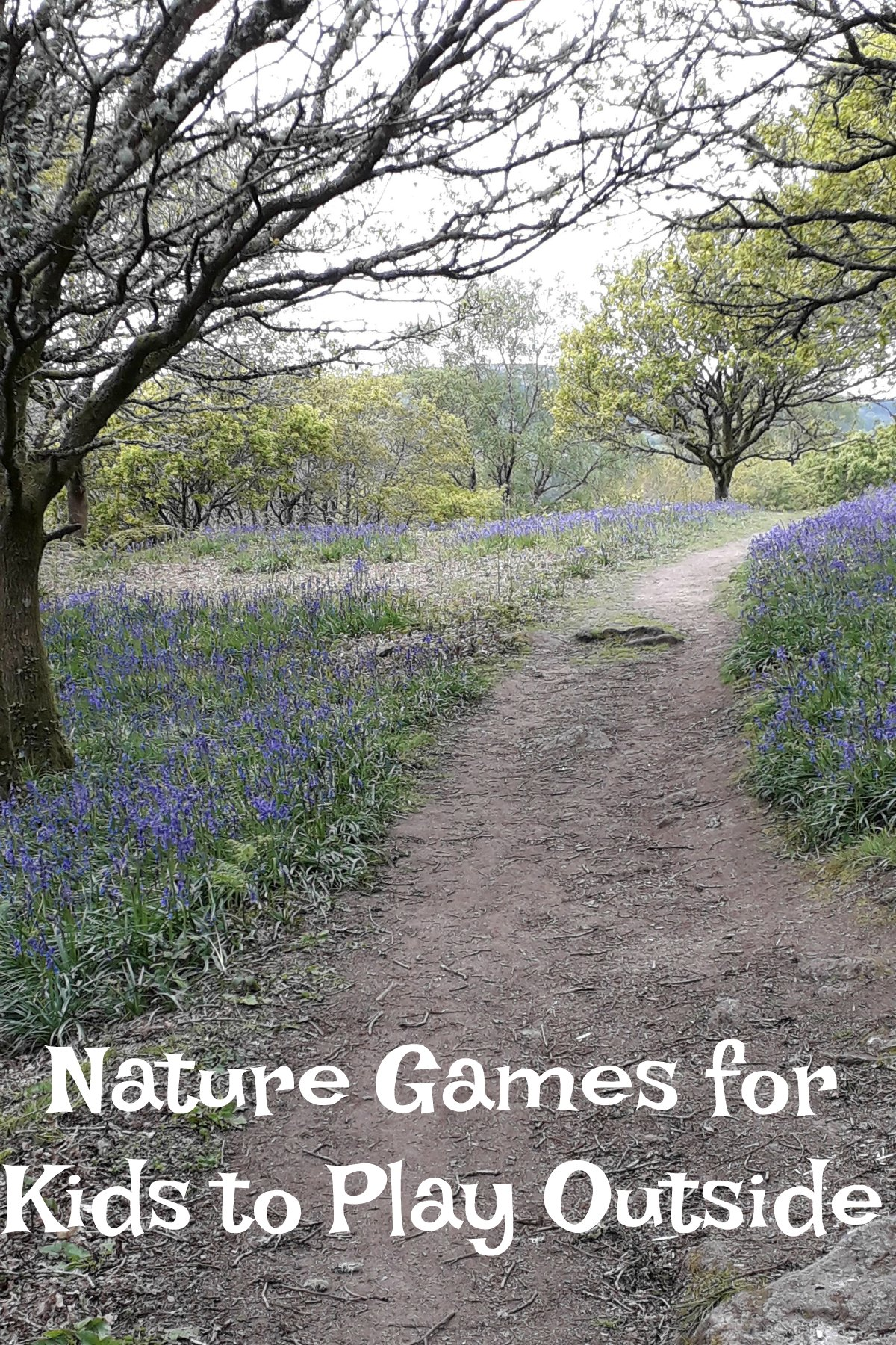 Nature Games for Kids to Play Outside