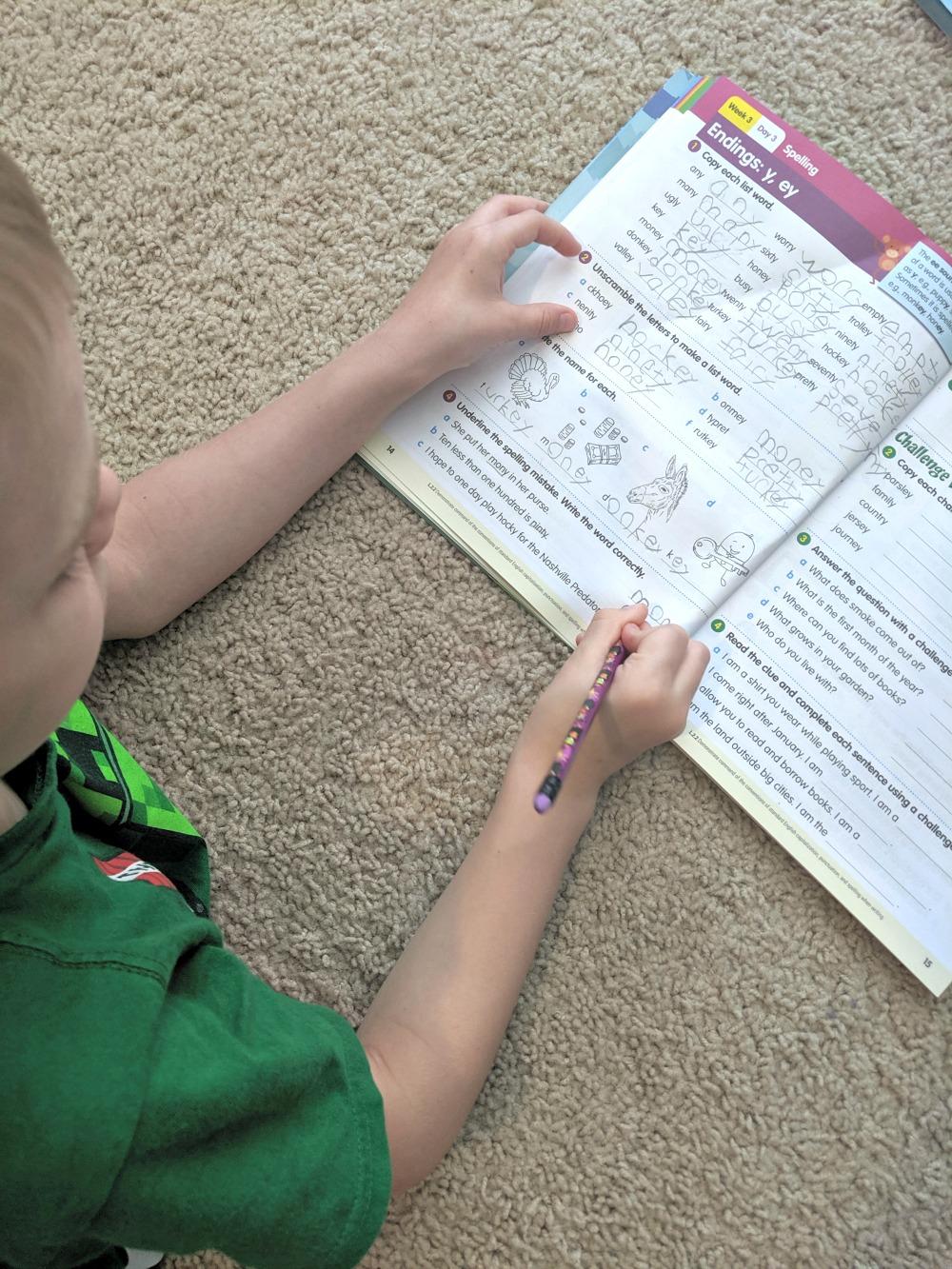 Reading Eggs Workbook - Grade 2 Reading