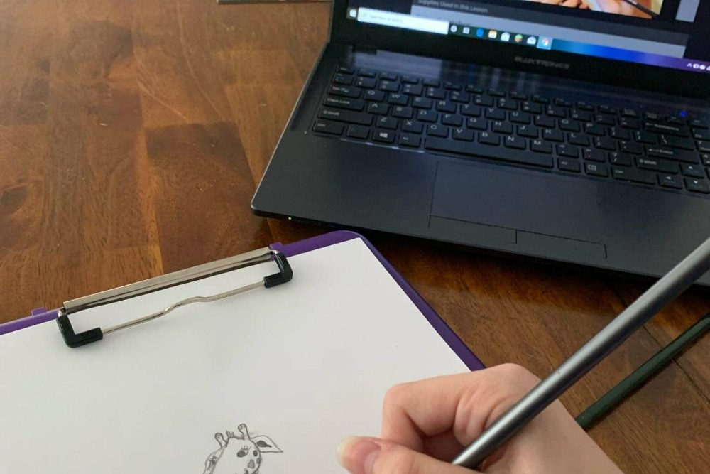 Creating a Masterpiece Drawing Program - Giraffe in Cartoon Video
