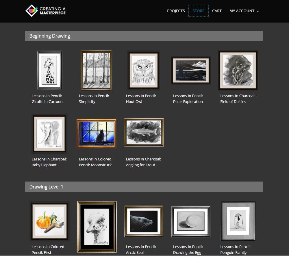 Creating a Masterpiece Web Menu