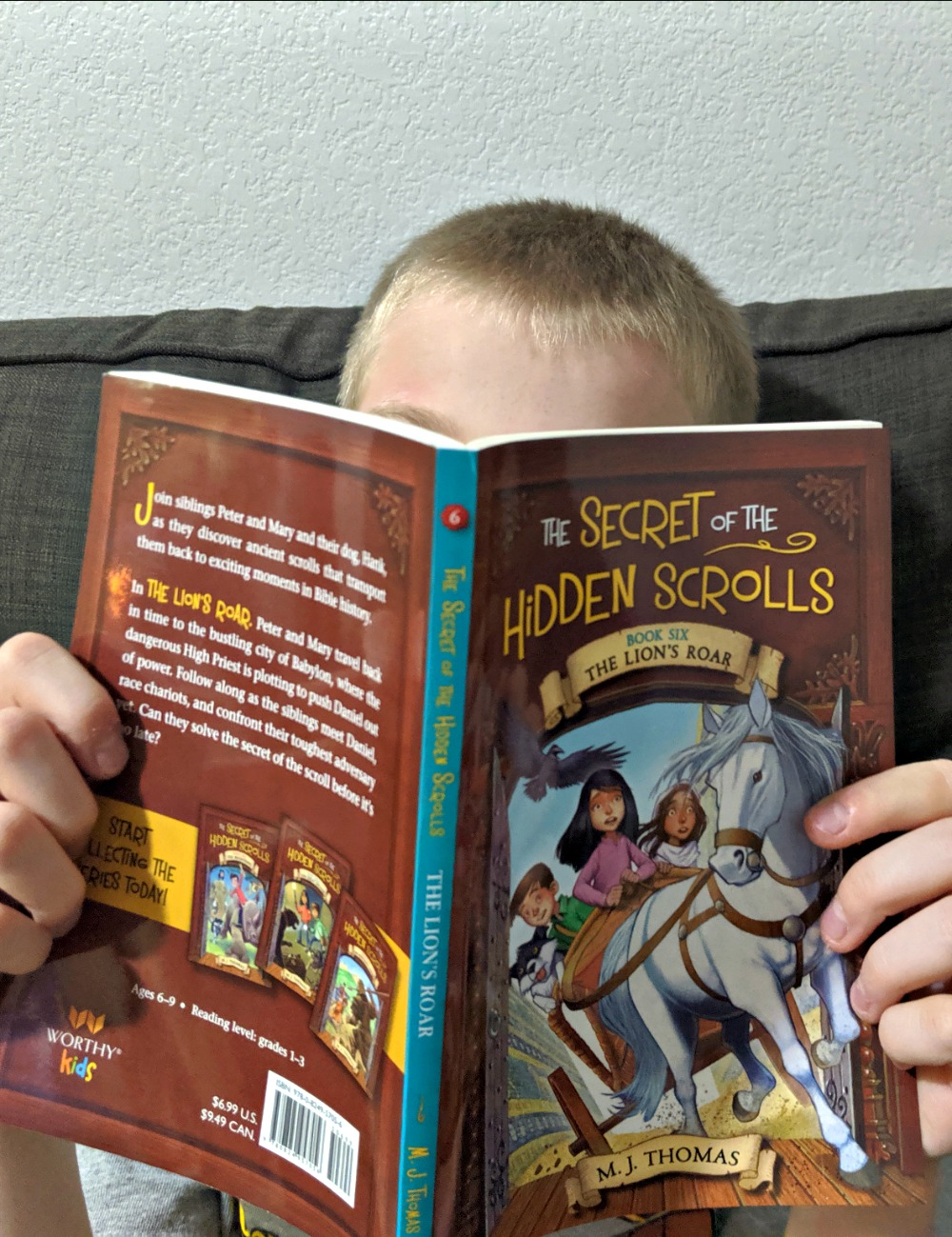 Secret of the Hidden Scrolls Book 6 by MJ Thomas