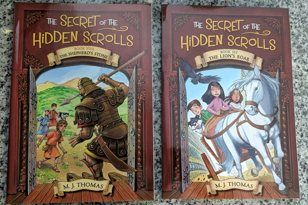 The Secret of the Hidden Scrolls Books 5 and 6