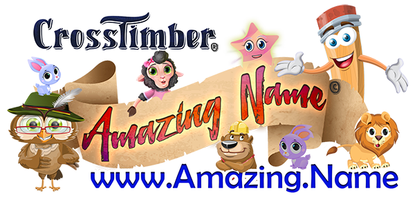 CrossTimber Amazing Name Logo