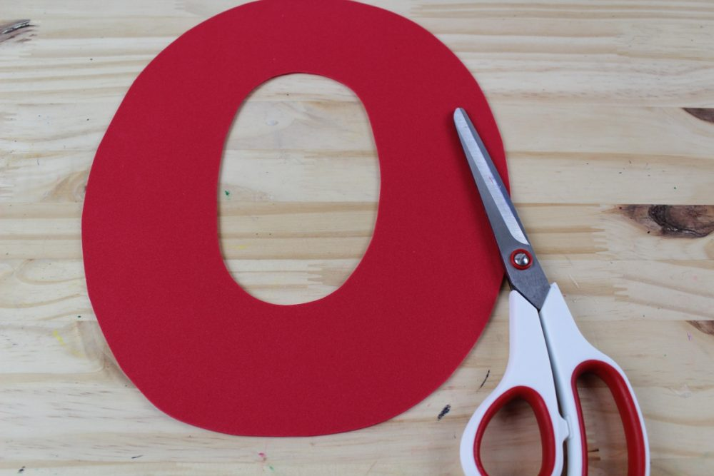 Letter O Craft - O is for Owl Supplies O Template Foam Letter