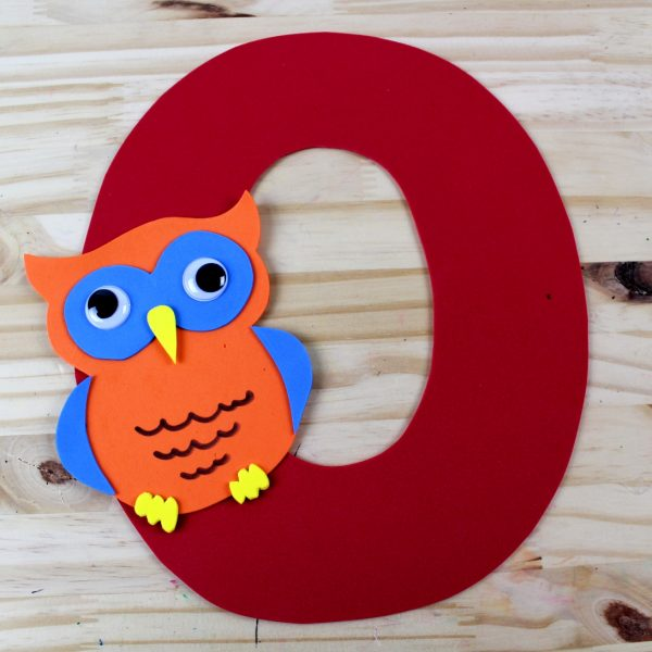 O is for Owl CRAFT Idea