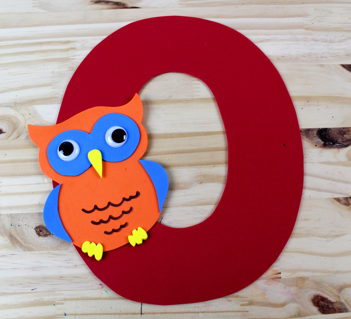 Letter O Craft - O is for Owl