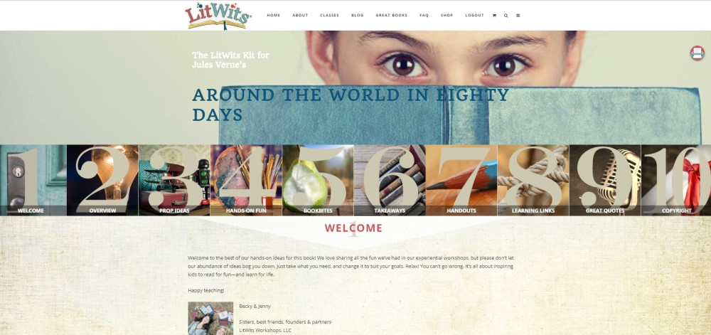 LitWits Web Version of the Literature Kit