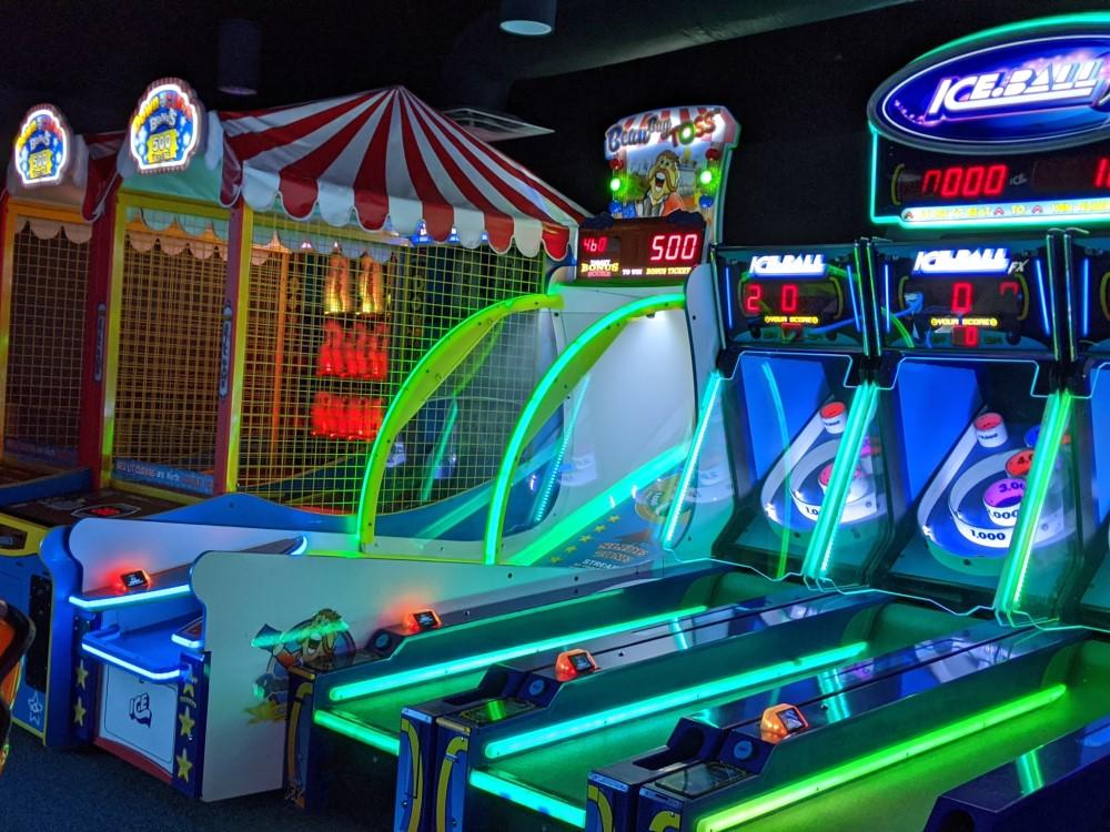 Epic Waters Indoor Waterpark Arcade Close Up 2
