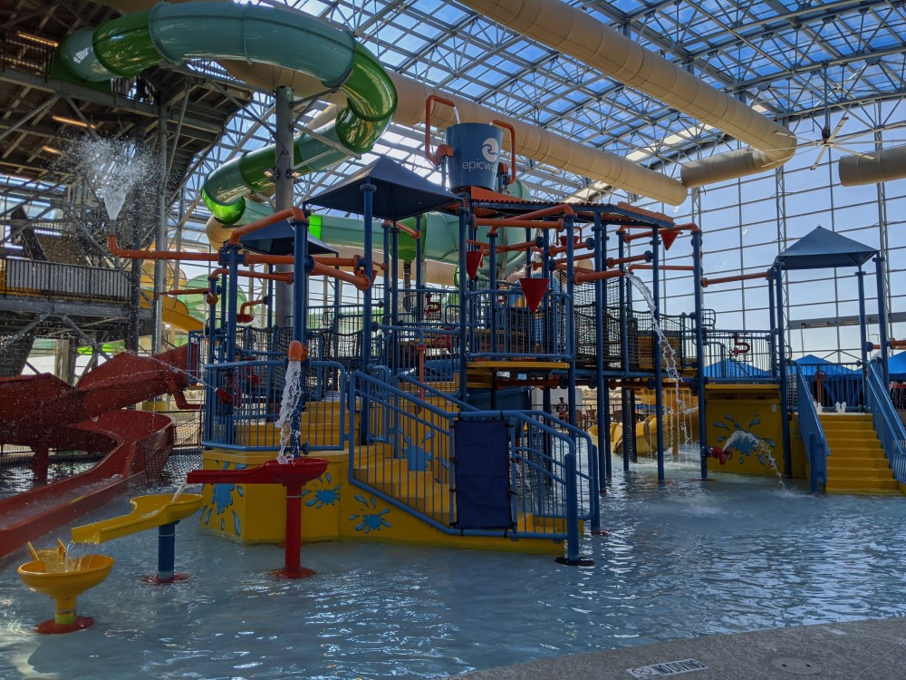 Epic Waters Indoor Waterpark Rascals Round-Up Childrens Area