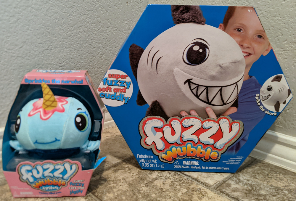 Fuzzy Wubble Toys