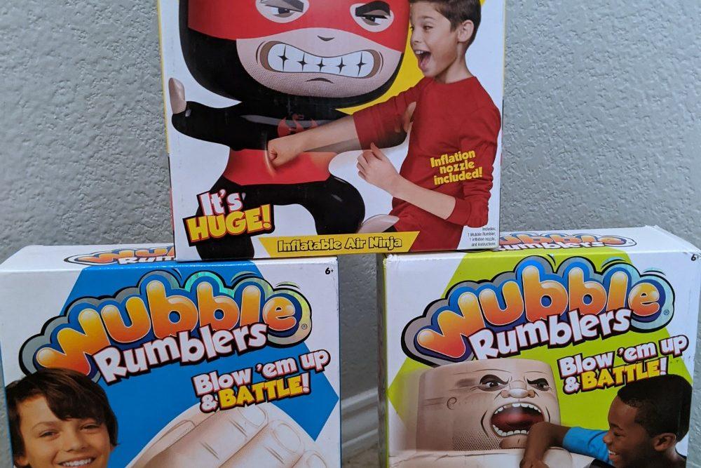 Wubble Rumblers Toys