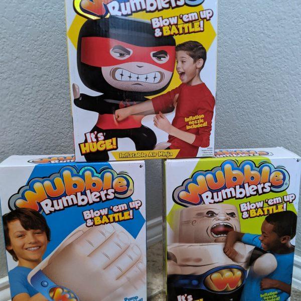 Gift Idea: Wubble Rumblers Get Kids Off Screens